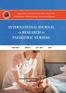 International Journal of Research In Paediatric Nursing